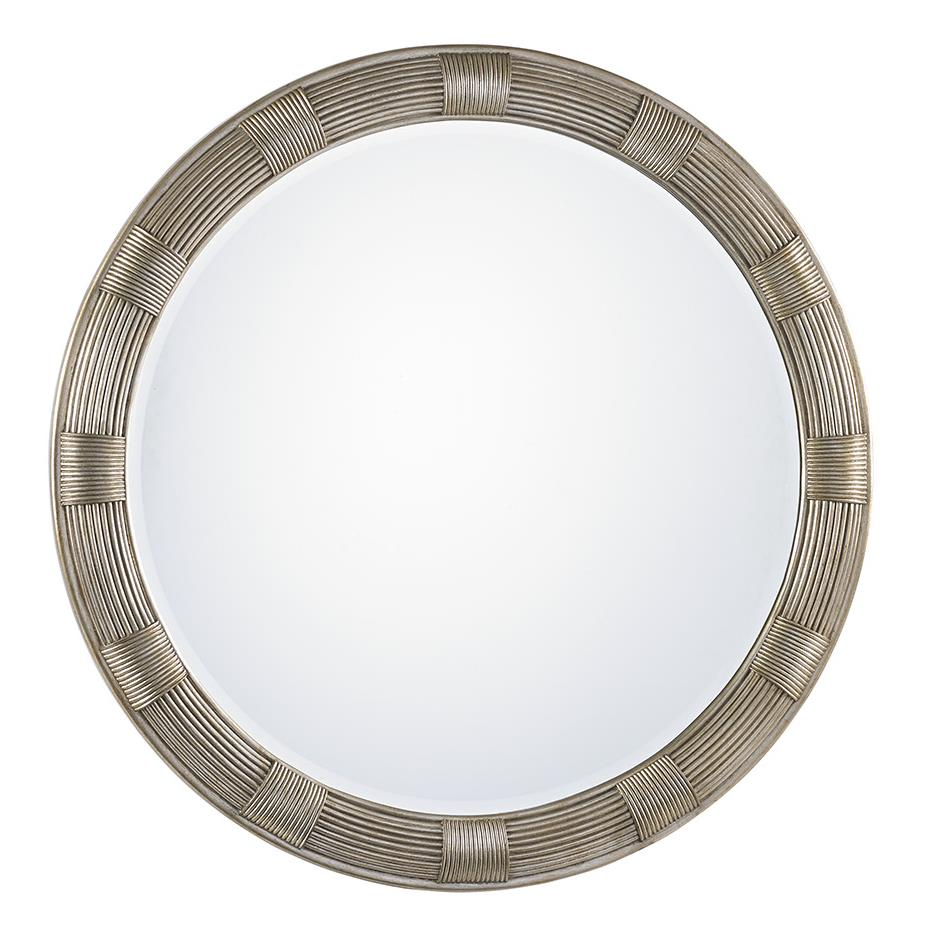 LAUREL CANYON Beverly Round Mirror by Lexington at Baer's Furniture