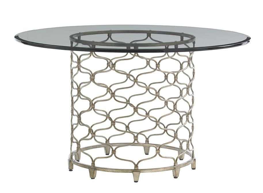"LAUREL CANYON Bollinger Dining Table (54"" Top) by Lexington at Baer's Furniture"