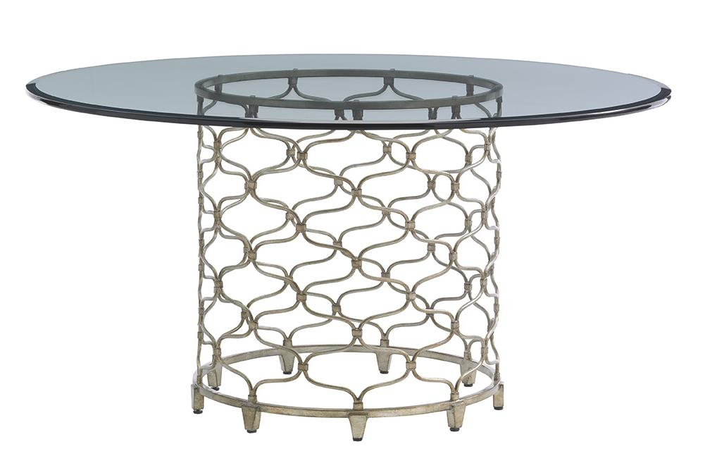 """LAUREL CANYON Bollinger Dining Table (60"""" Top) by Lexington at Johnny Janosik"""
