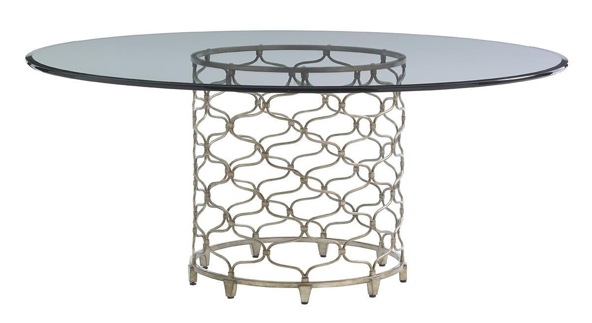 """LAUREL CANYON Bollinger Dining Table (72"""" Top) by Lexington at Johnny Janosik"""