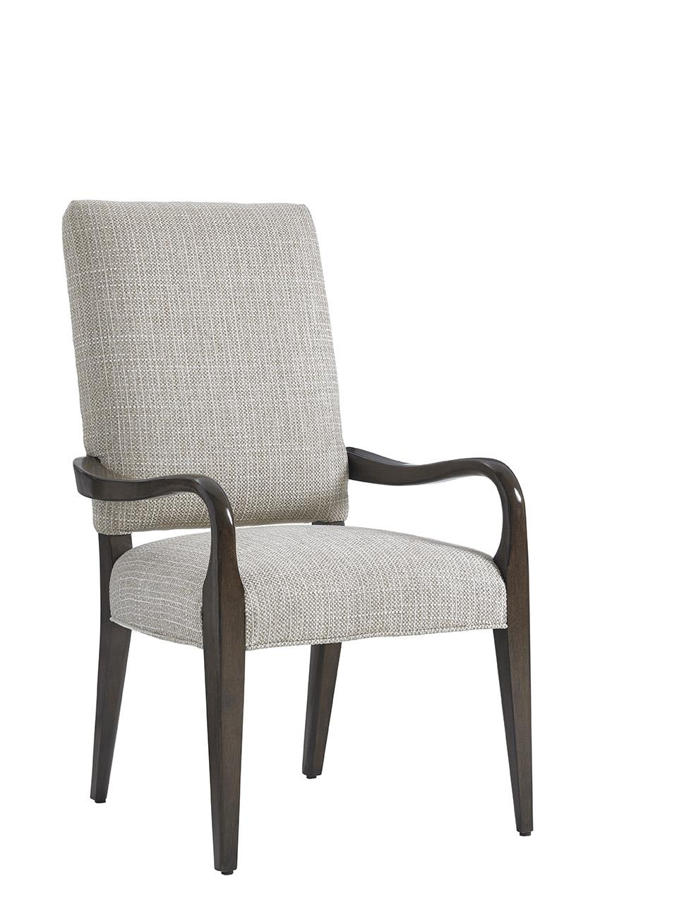 LAUREL CANYON Sierra Upholstered Arm Chair (Married Fabr) by Lexington at Johnny Janosik