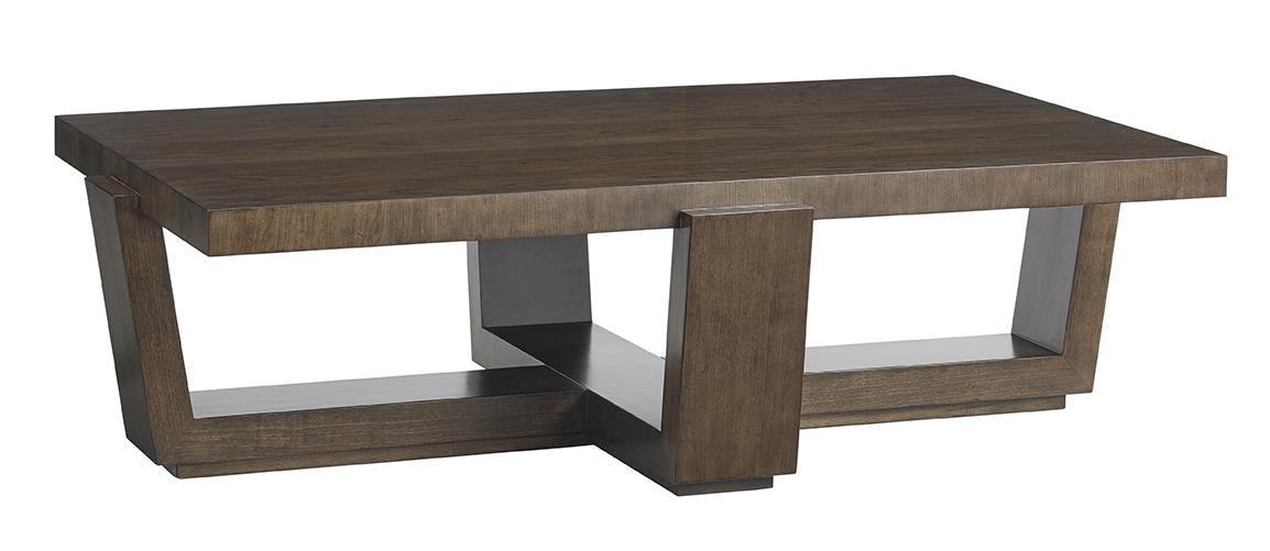 Laurel Canyon Esplanade Cocktail Table by Lexington at C. S. Wo & Sons California
