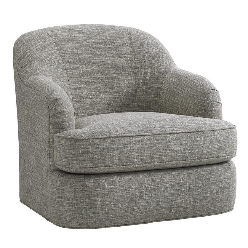 LAUREL CANYON Alta Vista Swivel Chair by Lexington at Johnny Janosik