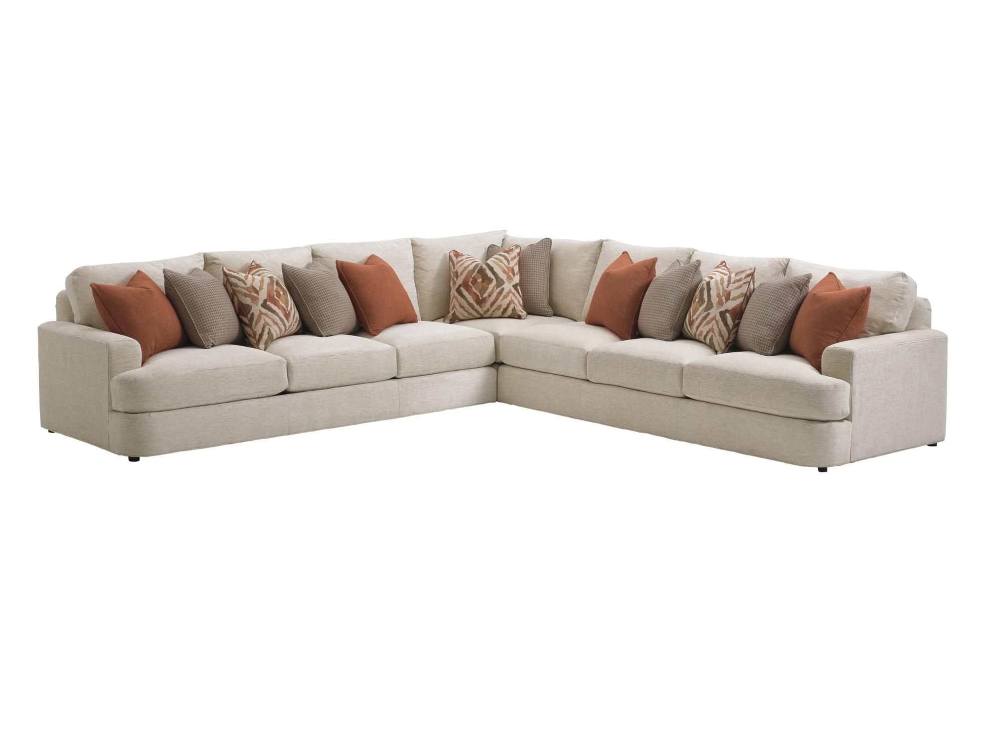 LAUREL CANYON Halandale Sectional Sofa by Lexington at Jacksonville Furniture Mart