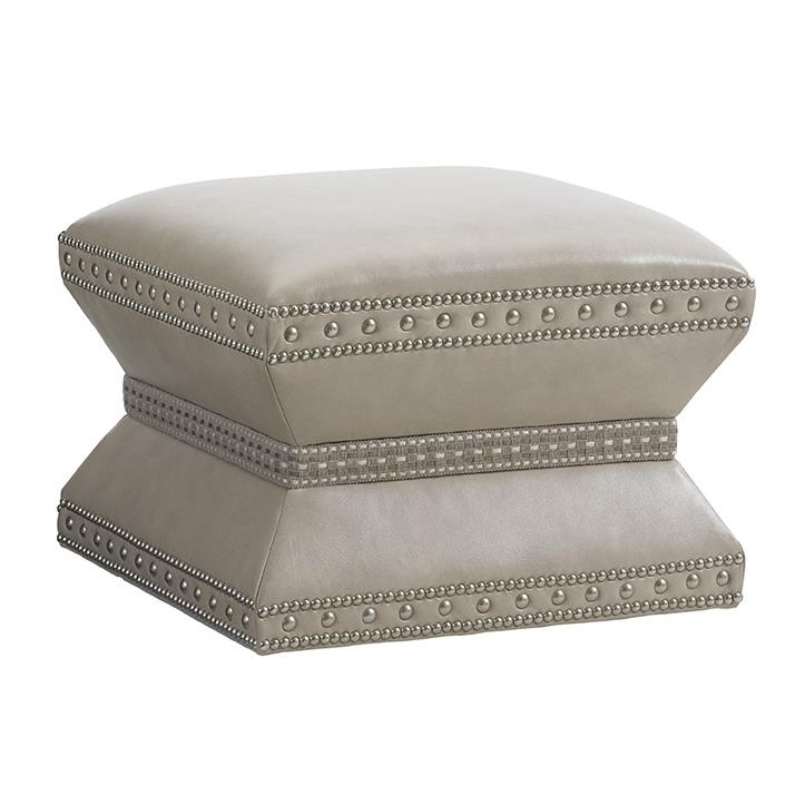 LAUREL CANYON Wheatley Ottoman (Married Cover) by Lexington at Jacksonville Furniture Mart