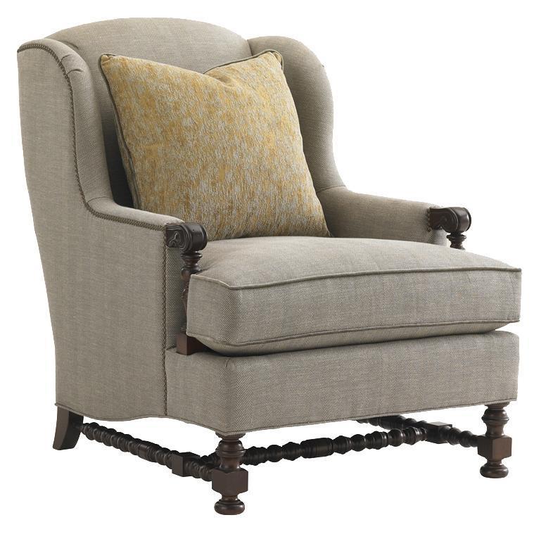 Lexington Upholstery Bradbury Chair by Lexington at Johnny Janosik