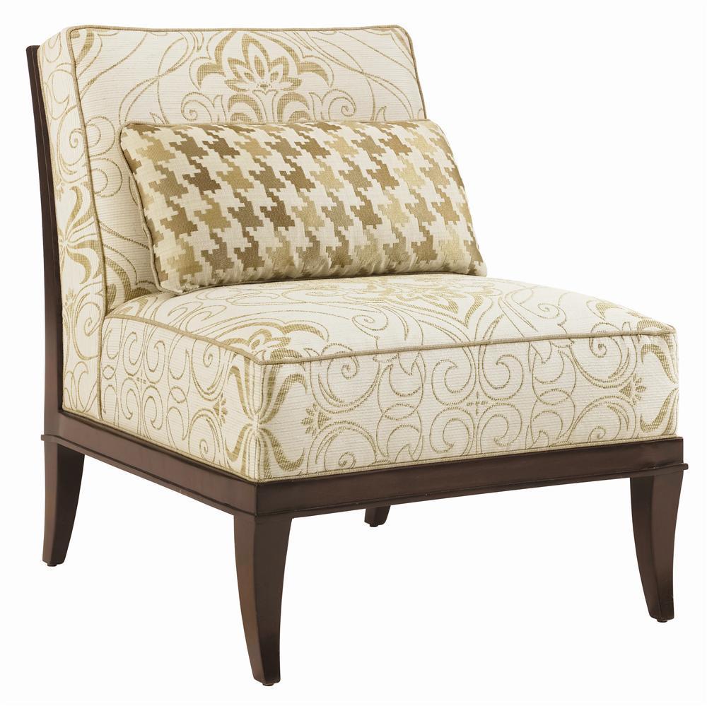 Lexington Upholstery Montaigne Armless Chair by Lexington at Johnny Janosik