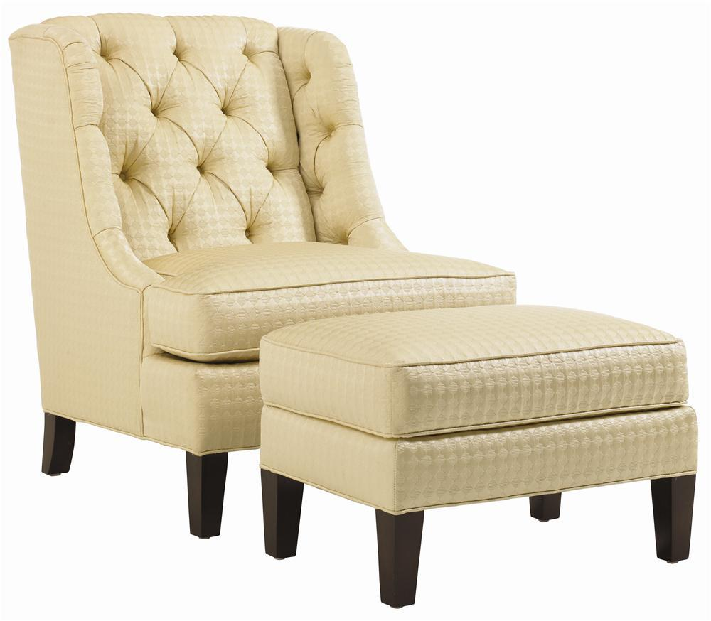 Lexington Upholstery Belrose Chair and Ottoman by Lexington at Johnny Janosik