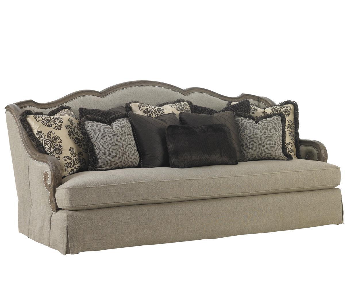 Lexington Upholstery Aragon Sofa by Lexington at Johnny Janosik