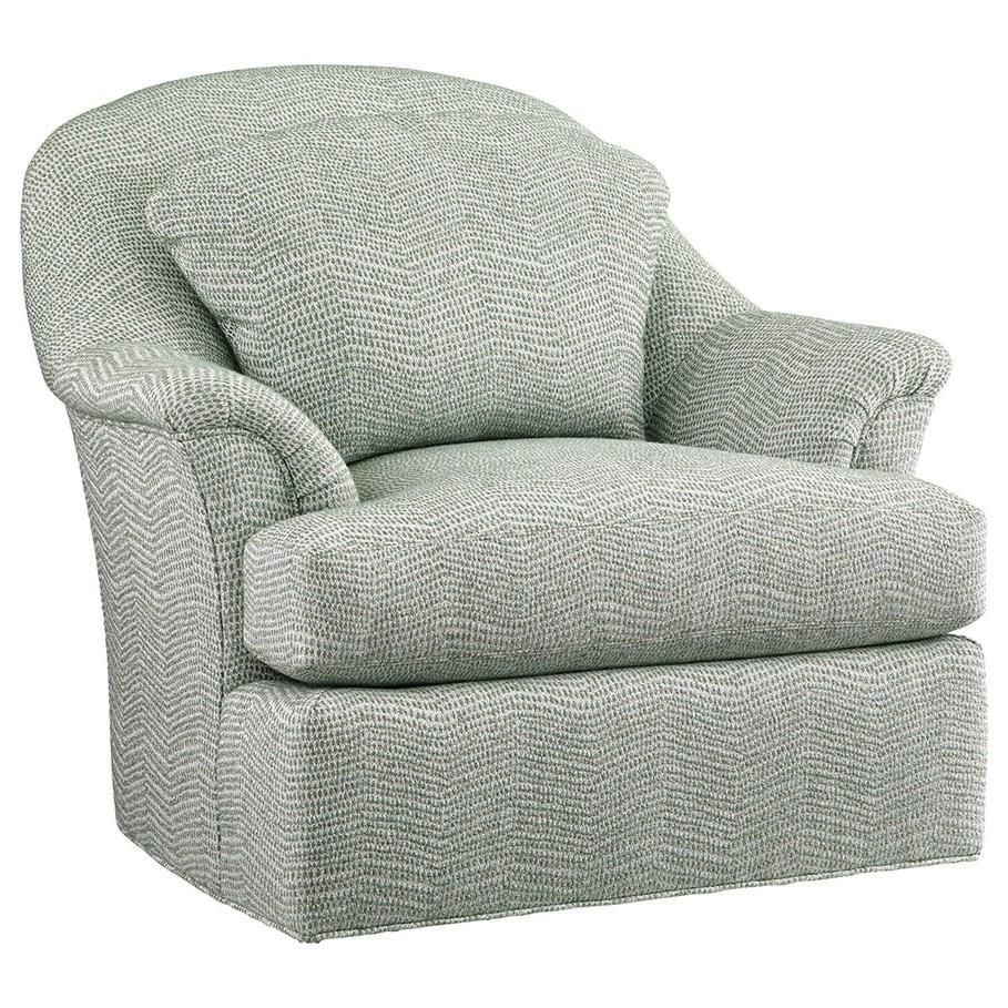 Lexington Upholstery Angelica Swivel Chair by Lexington at Johnny Janosik