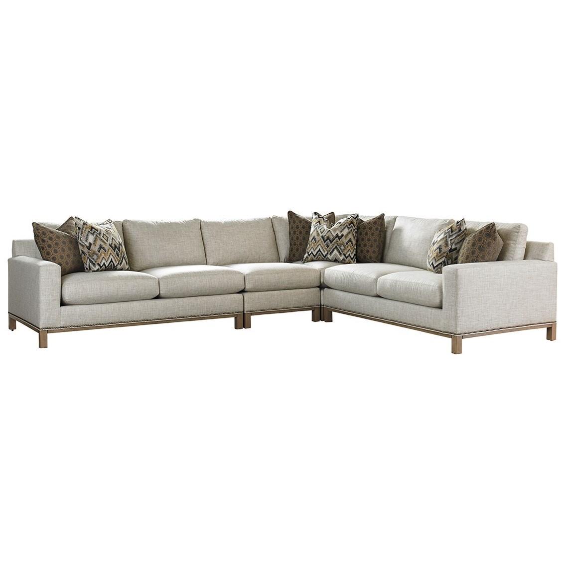 Lexington Upholstery Chronicle 4 Pc Sectional Sofa by Lexington at Jacksonville Furniture Mart