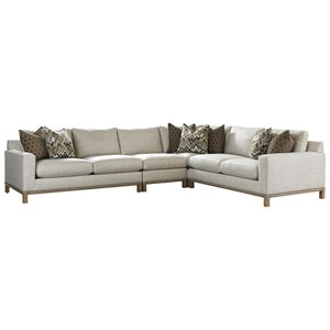 Chronicle 4 Pc Sectional Sofa