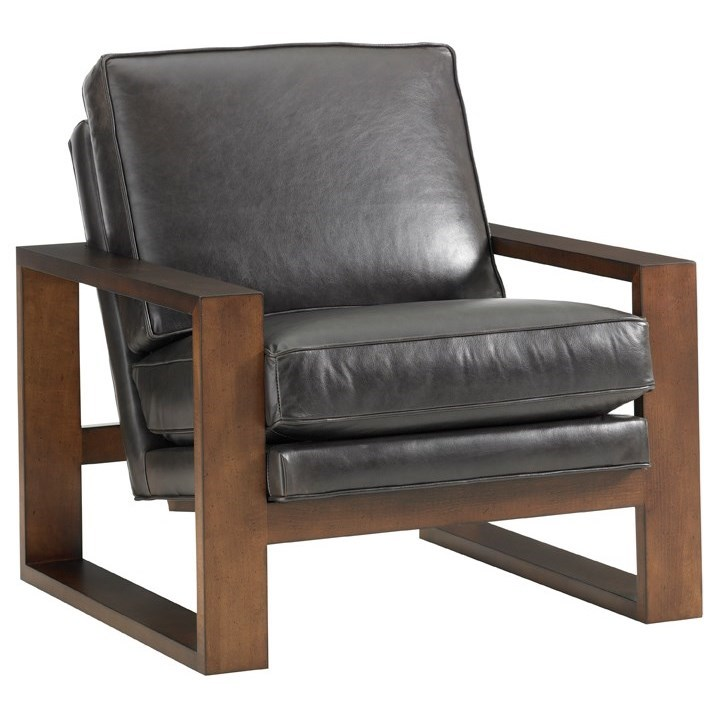Leather Axis Leather Chair by Lexington at Baer's Furniture