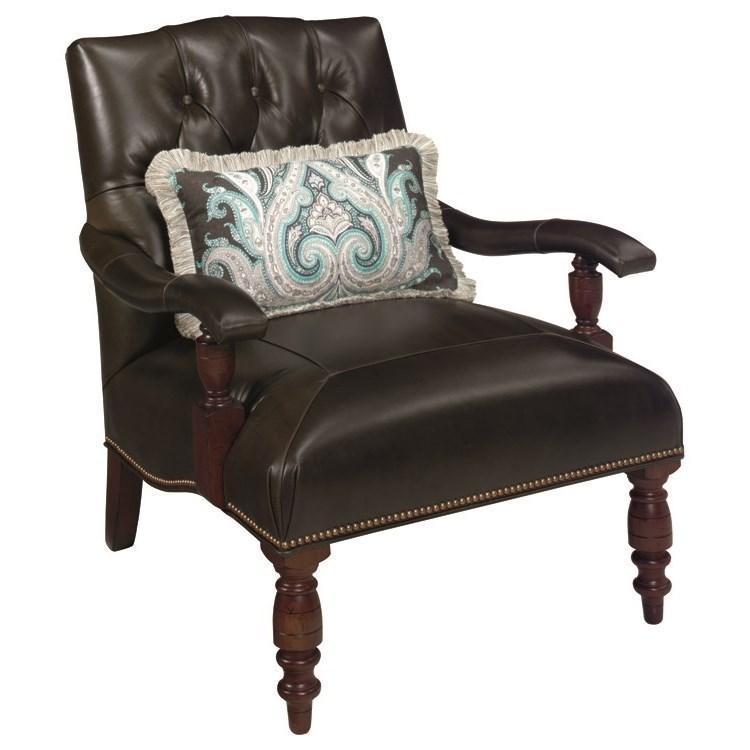 Lexington Leather Wilshire Chair by Lexington at Johnny Janosik