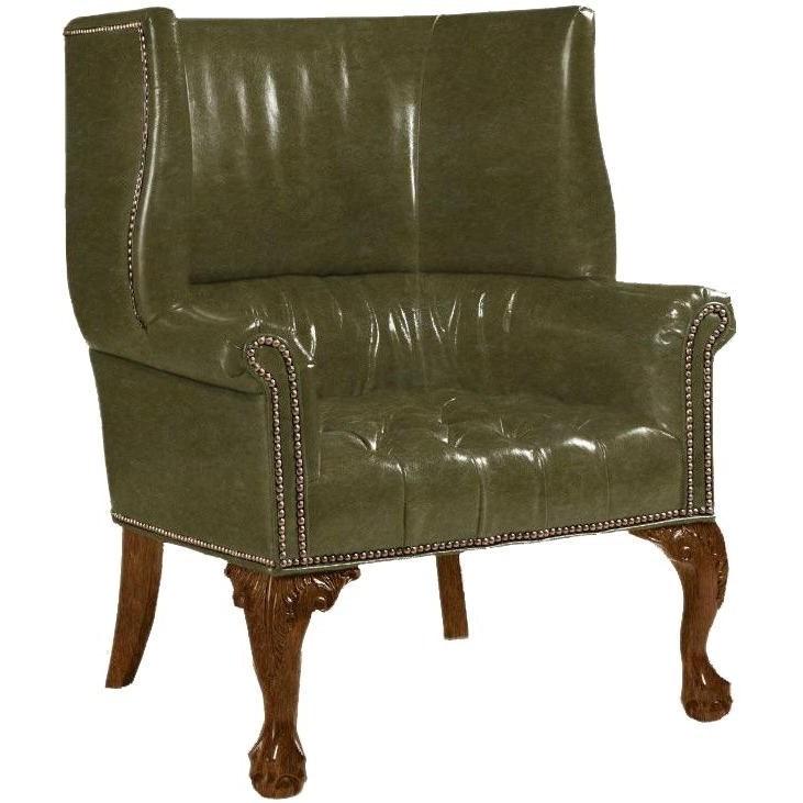 Lexington Leather Customizable Cardiff Leather Chair by Lexington at Johnny Janosik