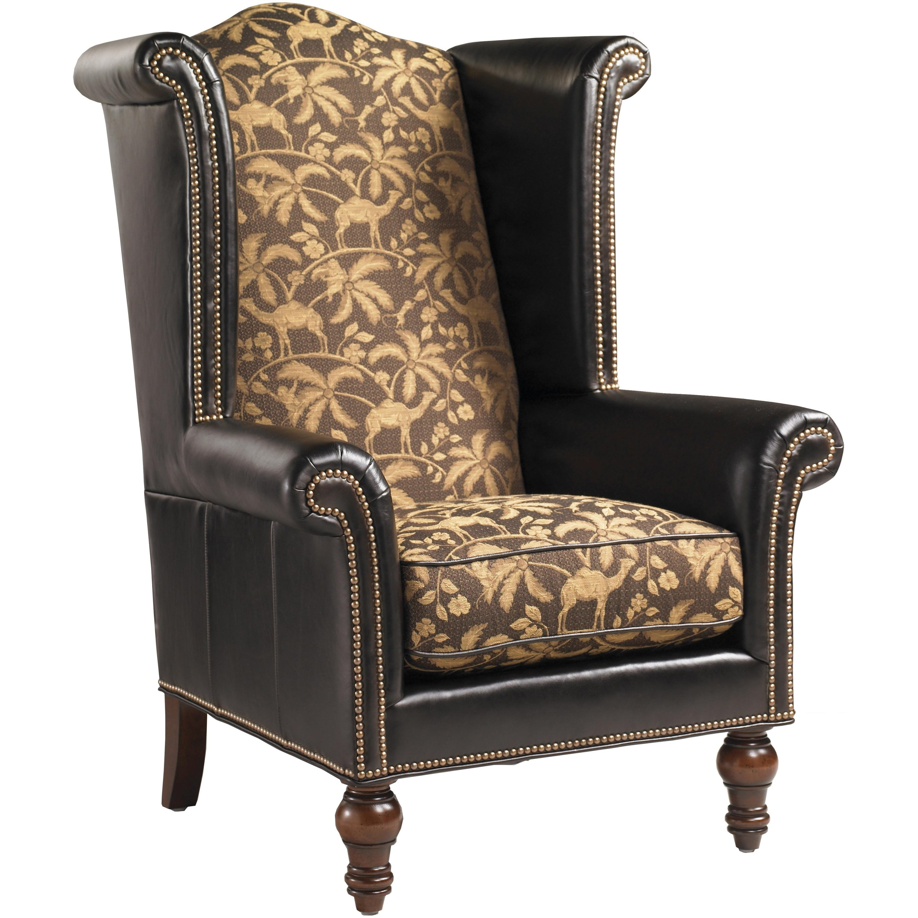Leather Customizable Kings Row Leather Chair by Lexington at Baer's Furniture