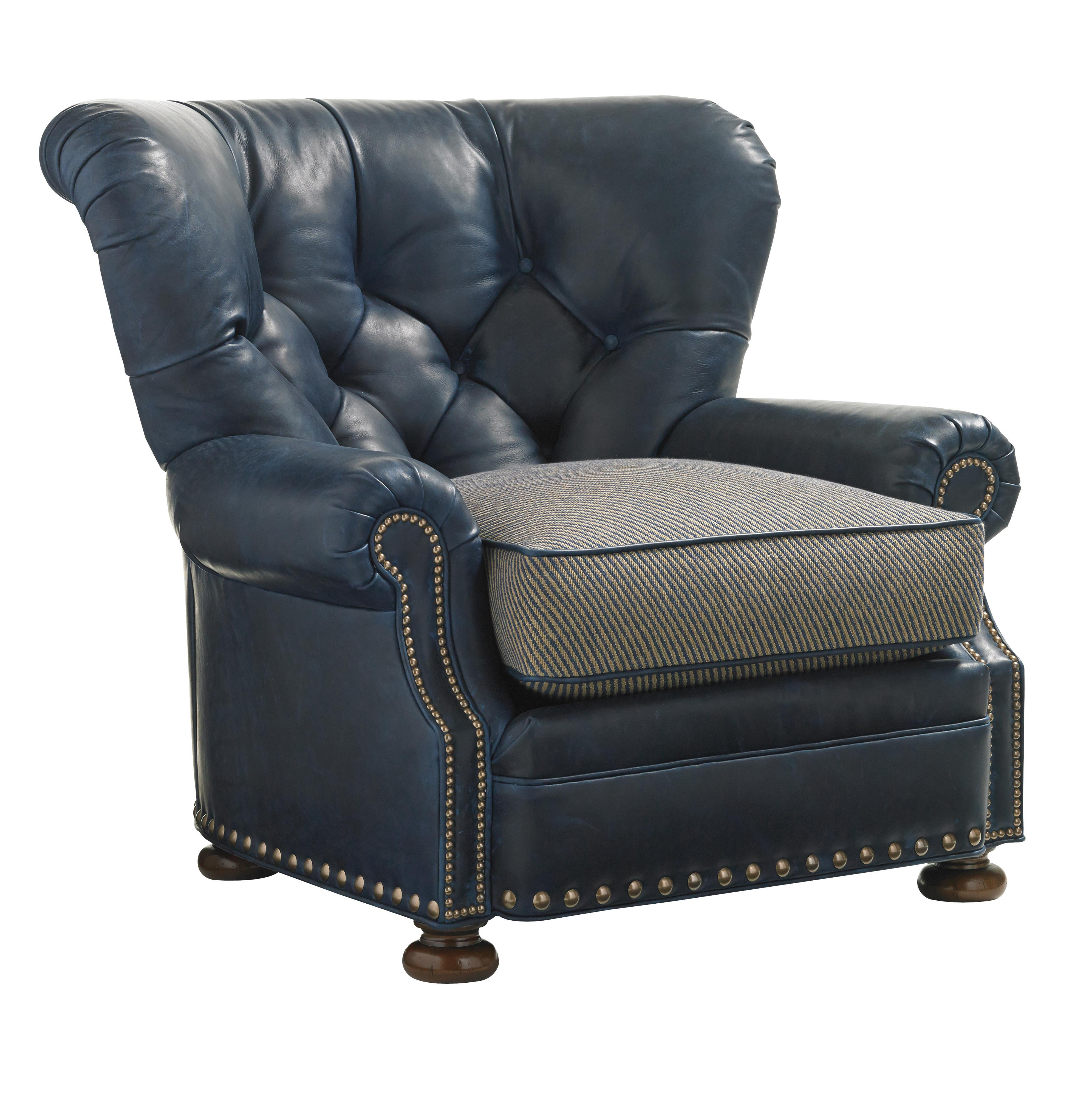 Leather Elle Chair by Lexington at Baer's Furniture