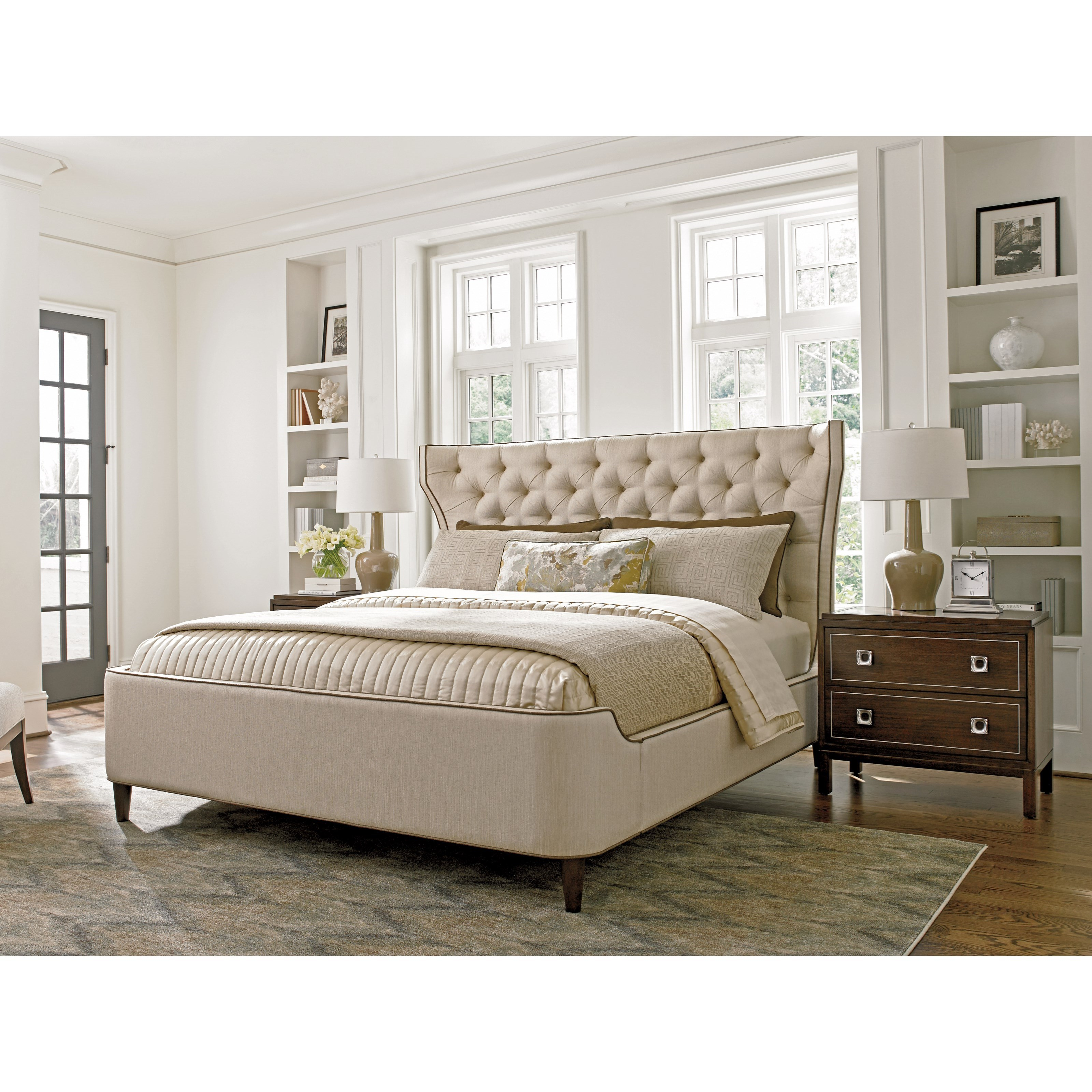 MacArthur Park Queen Bedroom Group by Lexington at Johnny Janosik