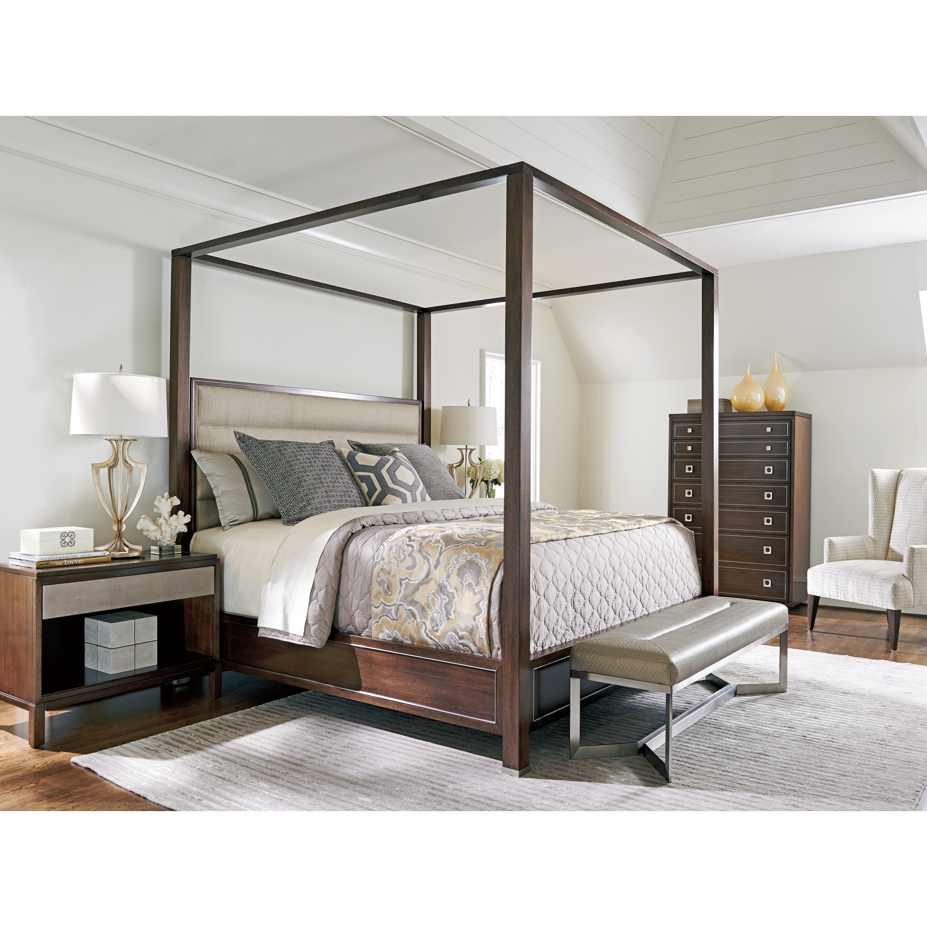 MacArthur Park Queen Bedroom Group by Lexington at Sprintz Furniture
