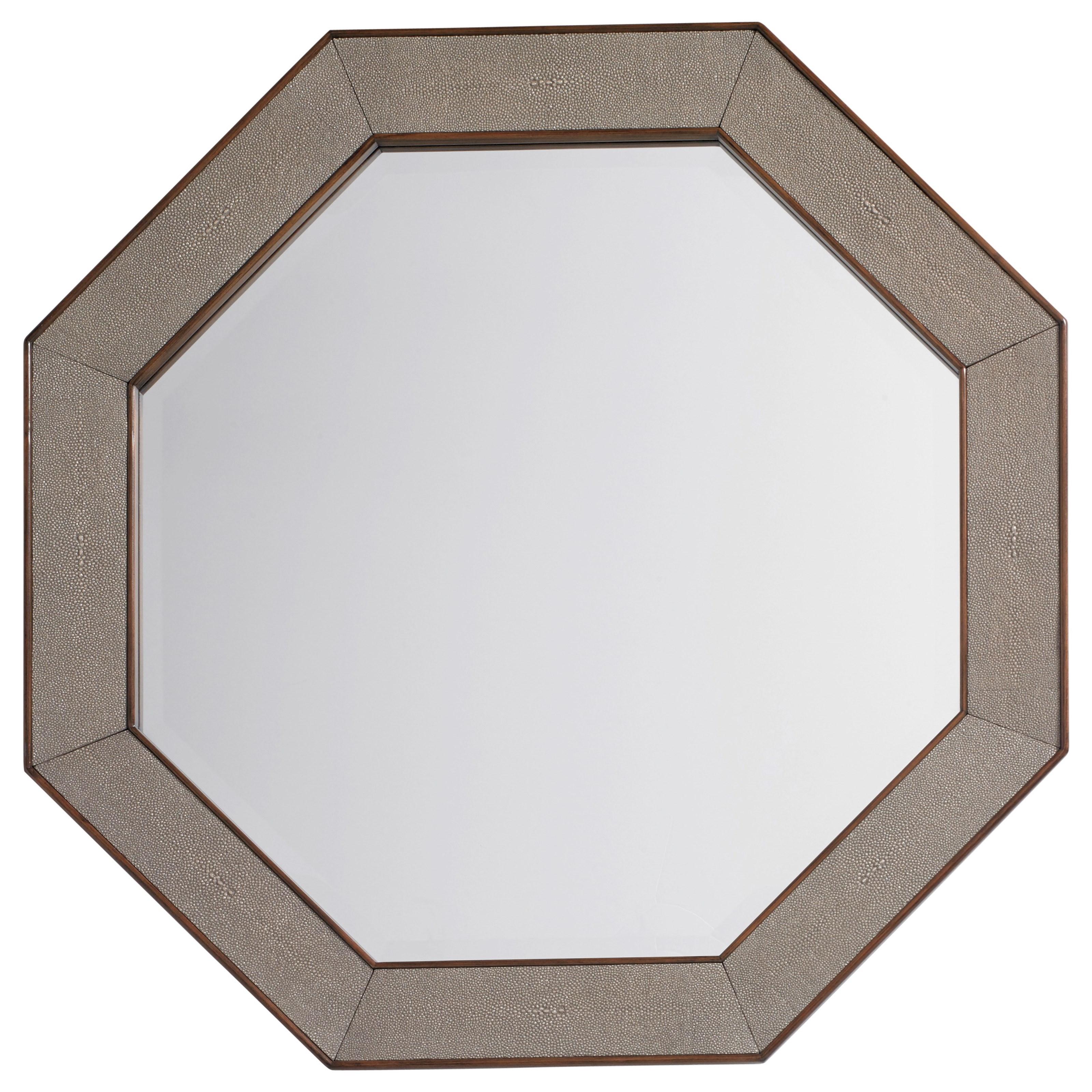 MacArthur Park Riva Octagonal Mirror by Lexington at Baer's Furniture