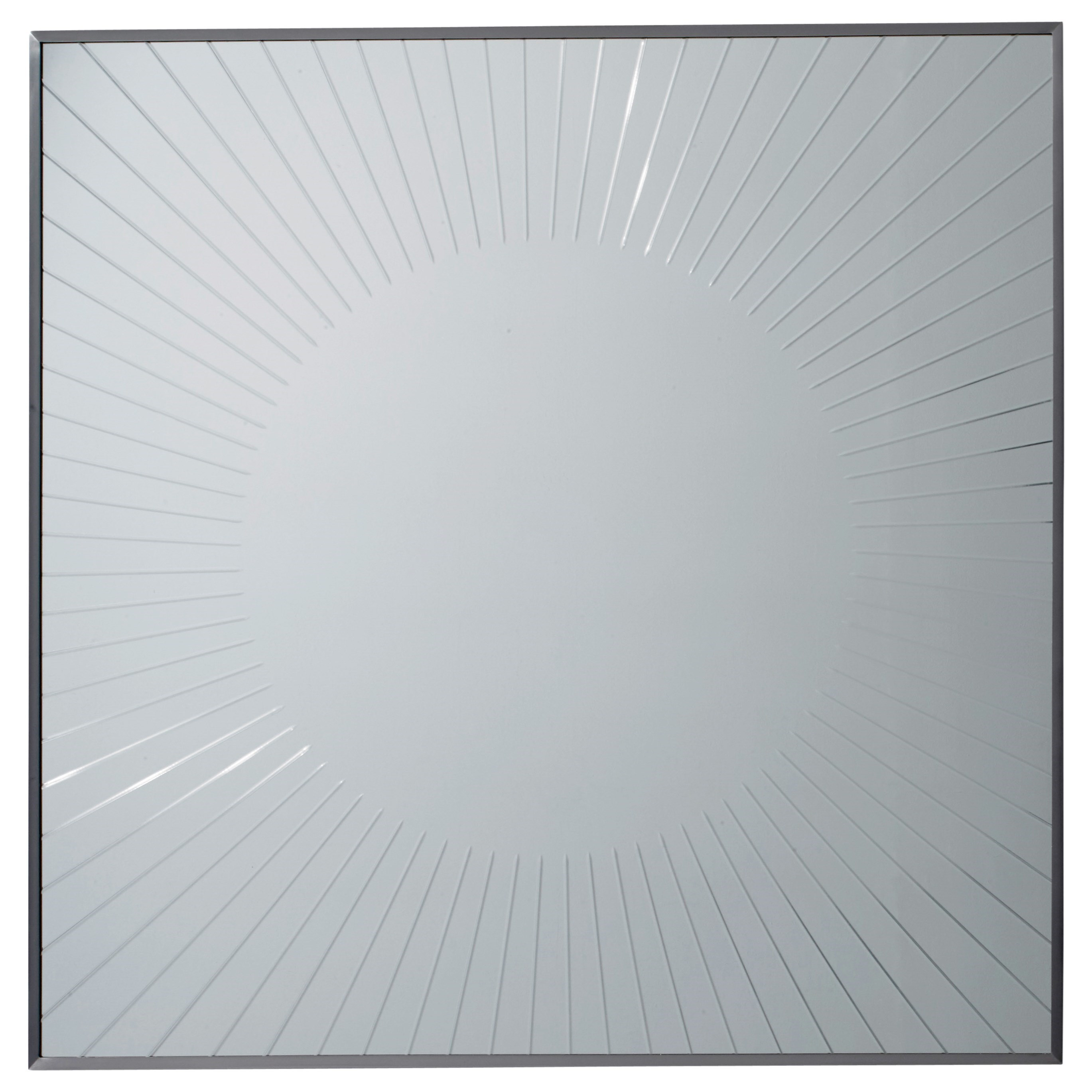 MacArthur Park Calliope Square Sunburst Mirror by Lexington at Baer's Furniture