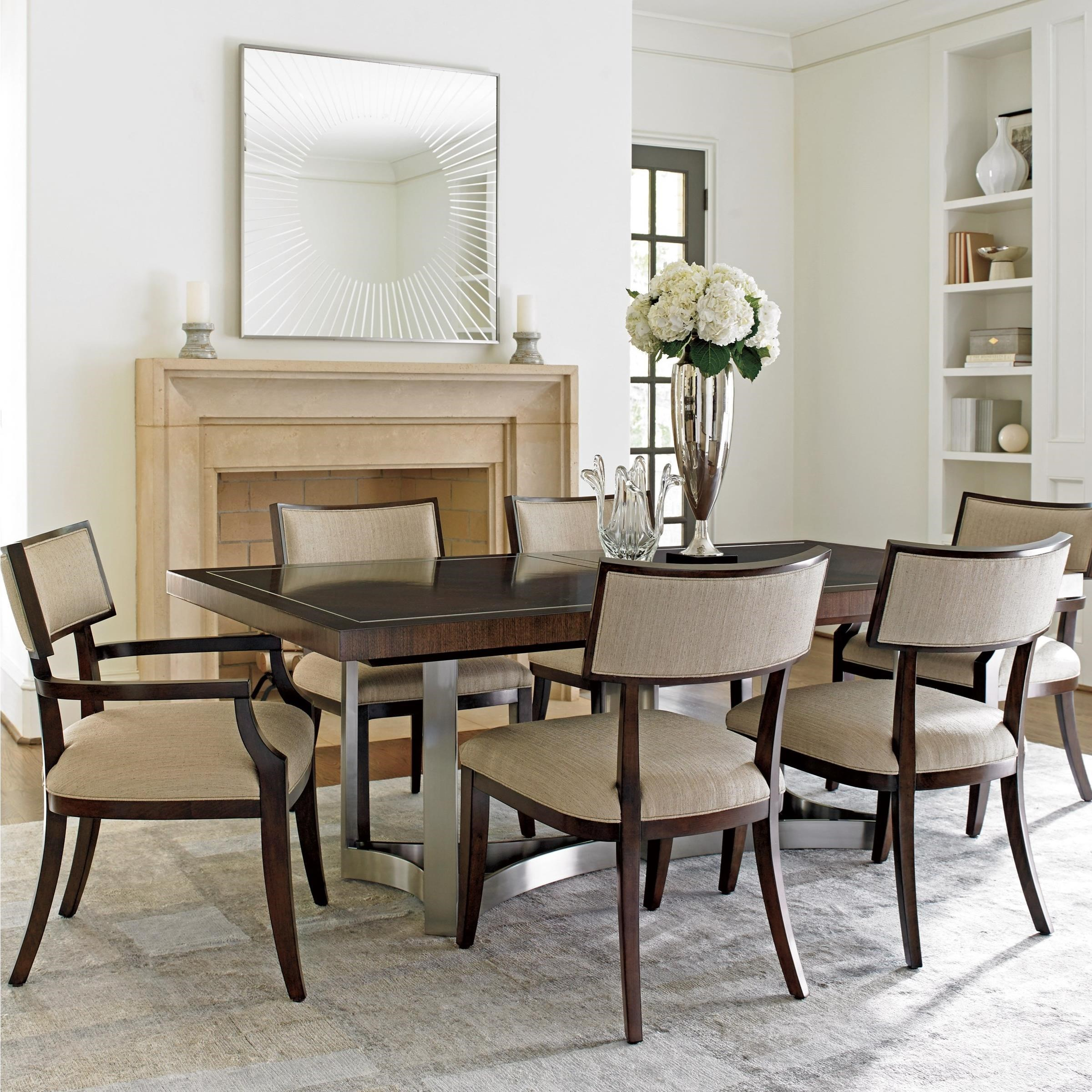 MacArthur Park 7 Pc Beverly Place Dining Set by Lexington at Baer's Furniture