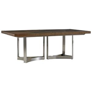 Beverly Place Rectangular Dining Table with Table Extension Leaves