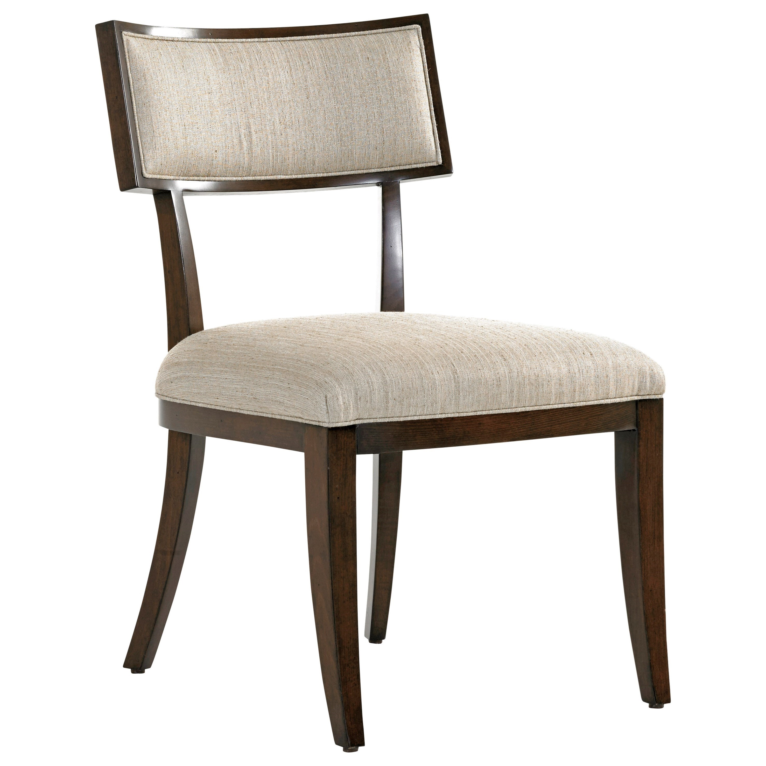 MacArthur Park Whittier Side Chair in Wheat Fabric by Lexington at Baer's Furniture