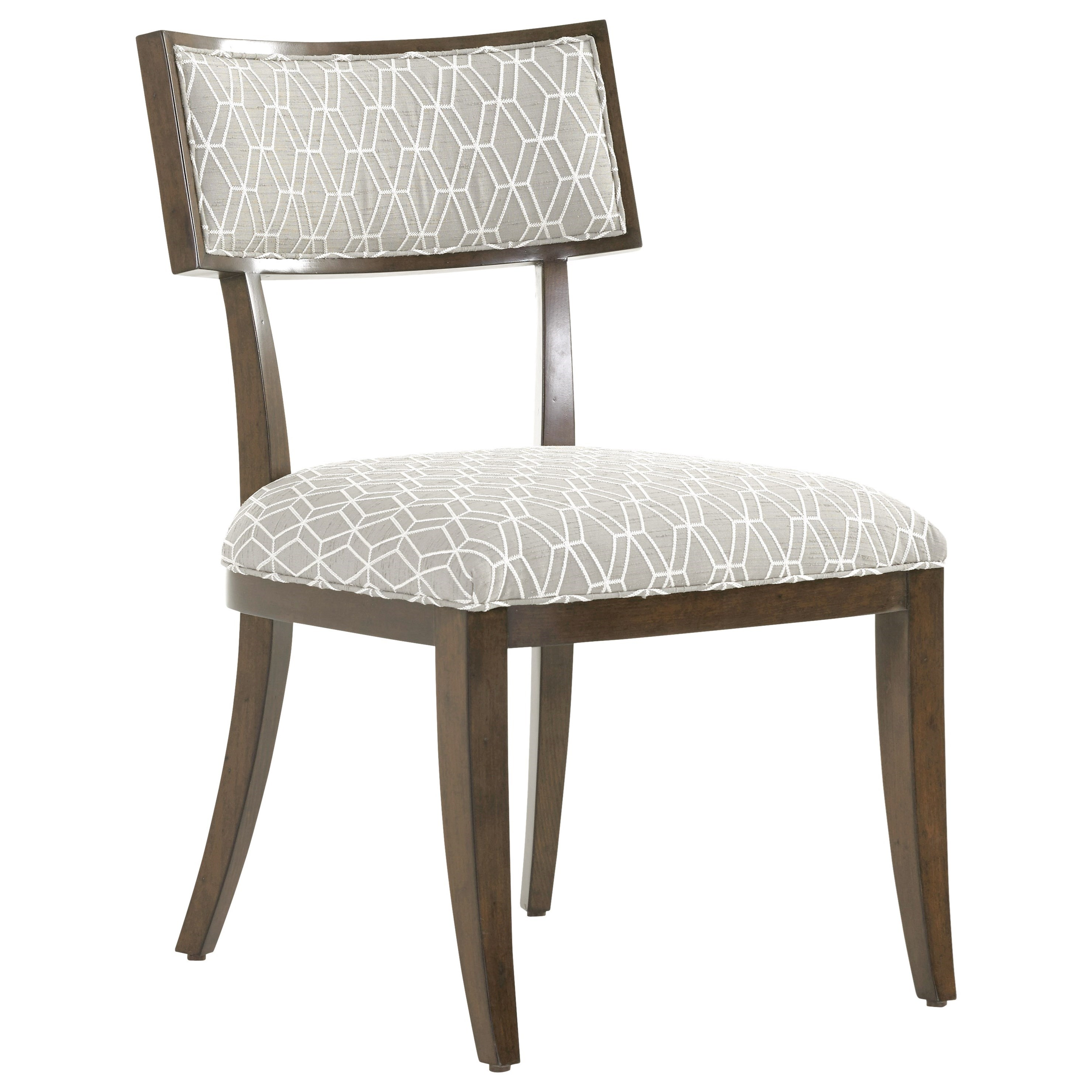 MacArthur Park Whittier Side Chair in Custom Fabric by Lexington at Johnny Janosik