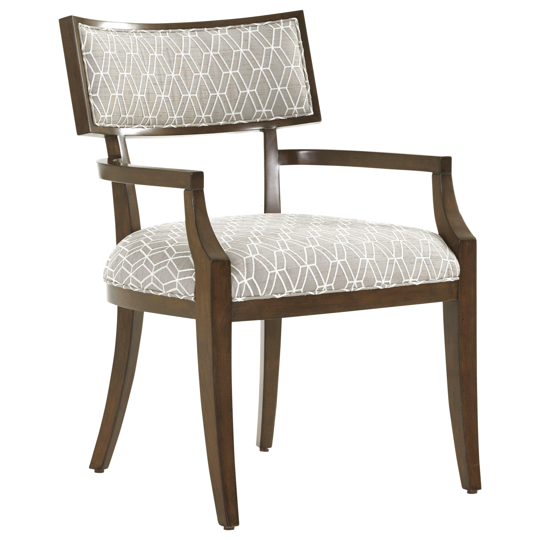 MacArthur Park Whittier Arm Chair in Custom Fabric by Lexington at Baer's Furniture