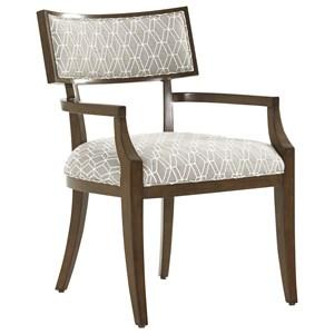 Whittier Arm Chair in Custom Fabric
