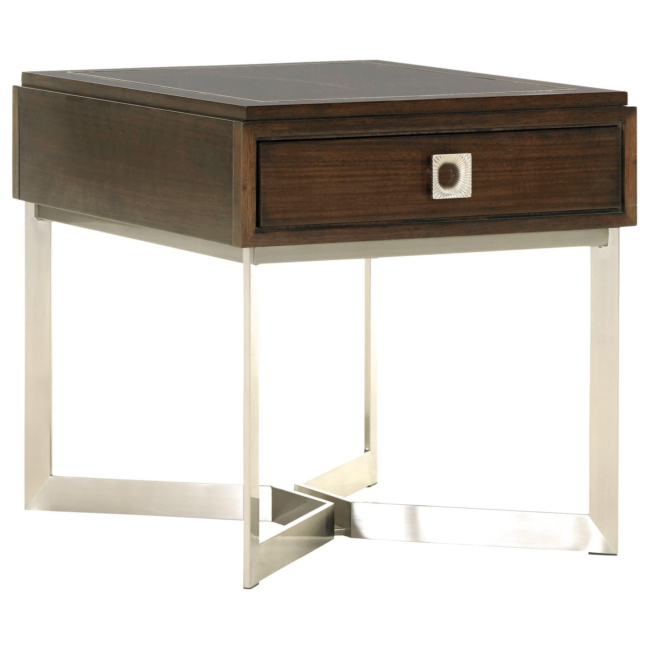 MacArthur Park Culver End Table by Lexington at Baer's Furniture