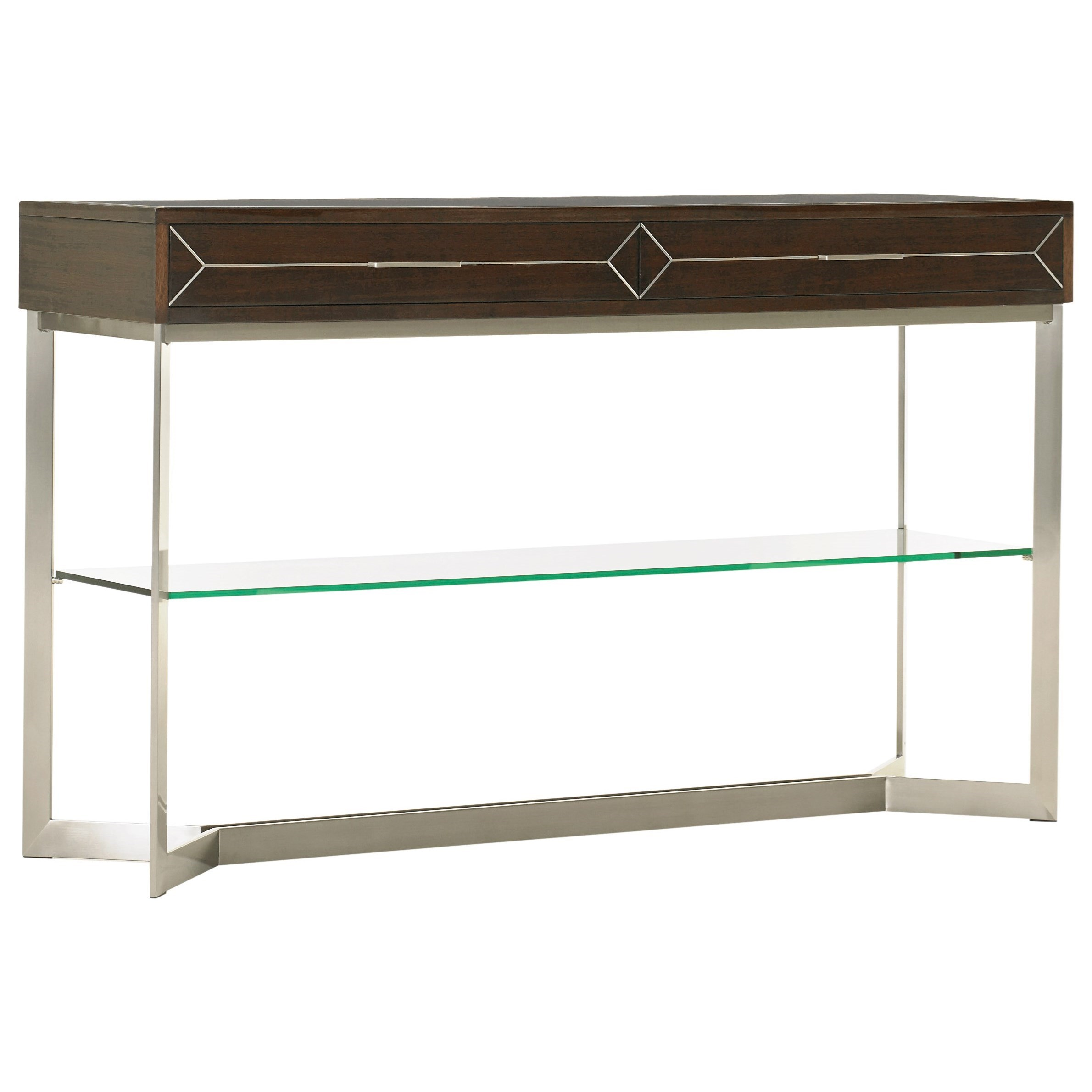 MacArthur Park Loring Console Table by Lexington at Baer's Furniture