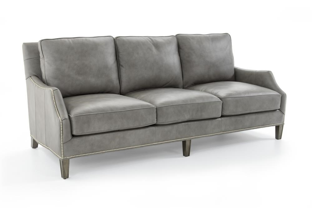 Ashton Leather Quickship Sofa
