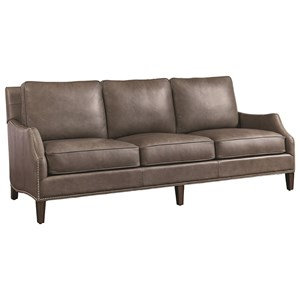 Ashton Leather Quickship Sofa