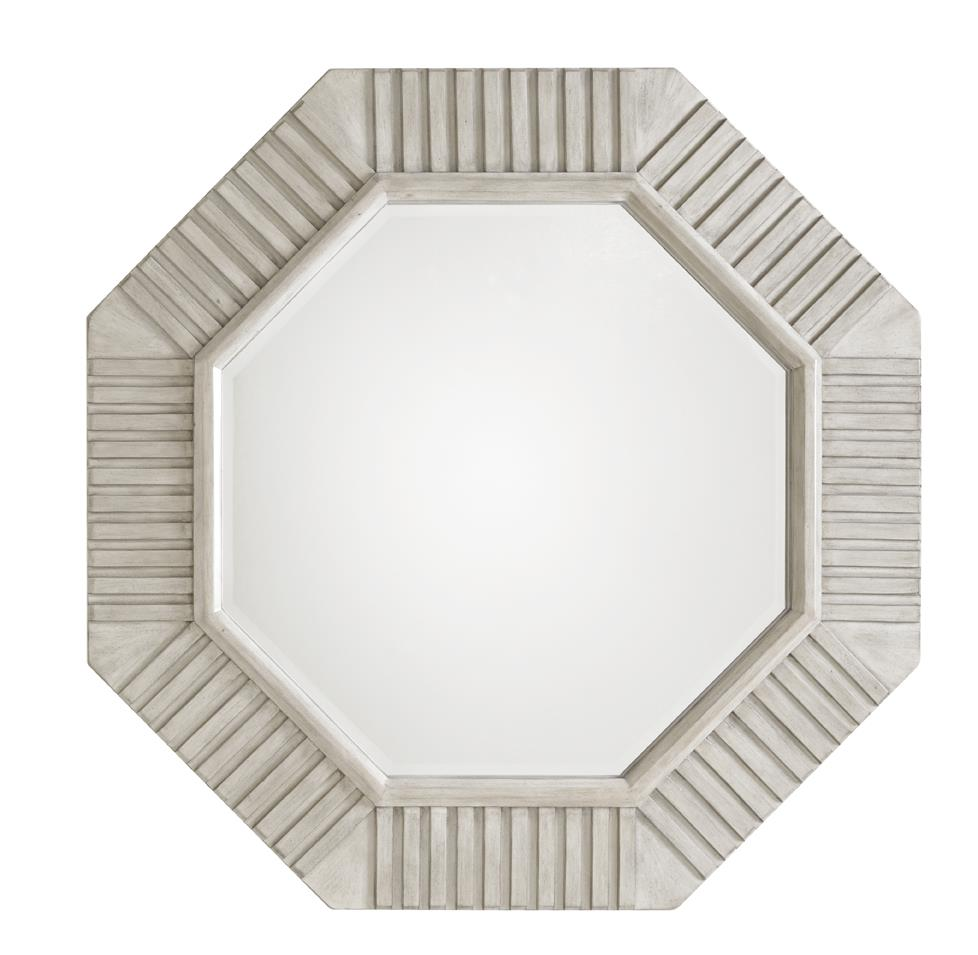 Oyster Bay SELDEN OCTAGONAL MIRROR by Lexington at Baer's Furniture