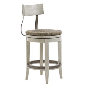 Lexington Oyster Bay MERRICK SWIVEL COUNTER STOOL
