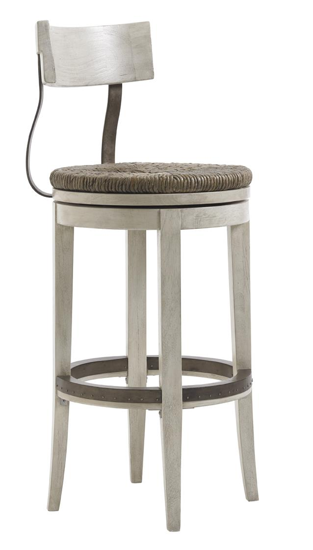 Oyster Bay MERRICK SWIVEL BAR STOOL by Lexington at Fisher Home Furnishings