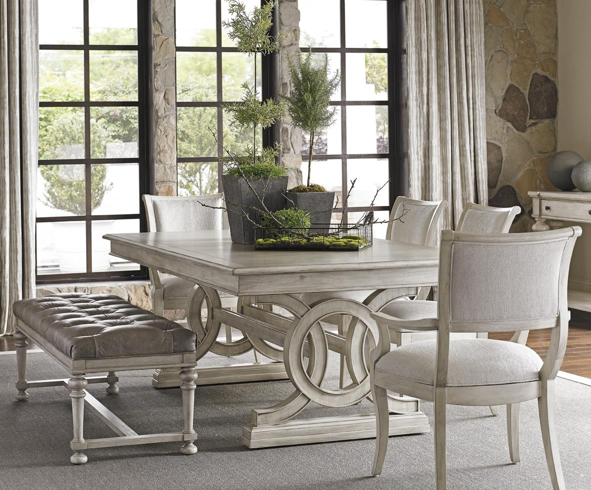 Oyster Bay 6 Pc Dining Set with Bench by Lexington at Baer's Furniture