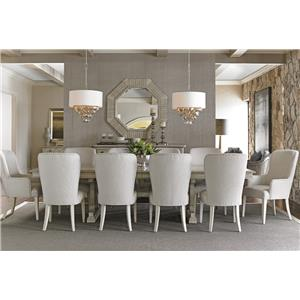 Lexington Oyster Bay 11 Pc Dining Set