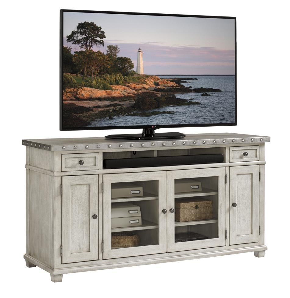 Oyster Bay SHADOW VALLEY MEDIA CONSOLE by Lexington at Baer's Furniture