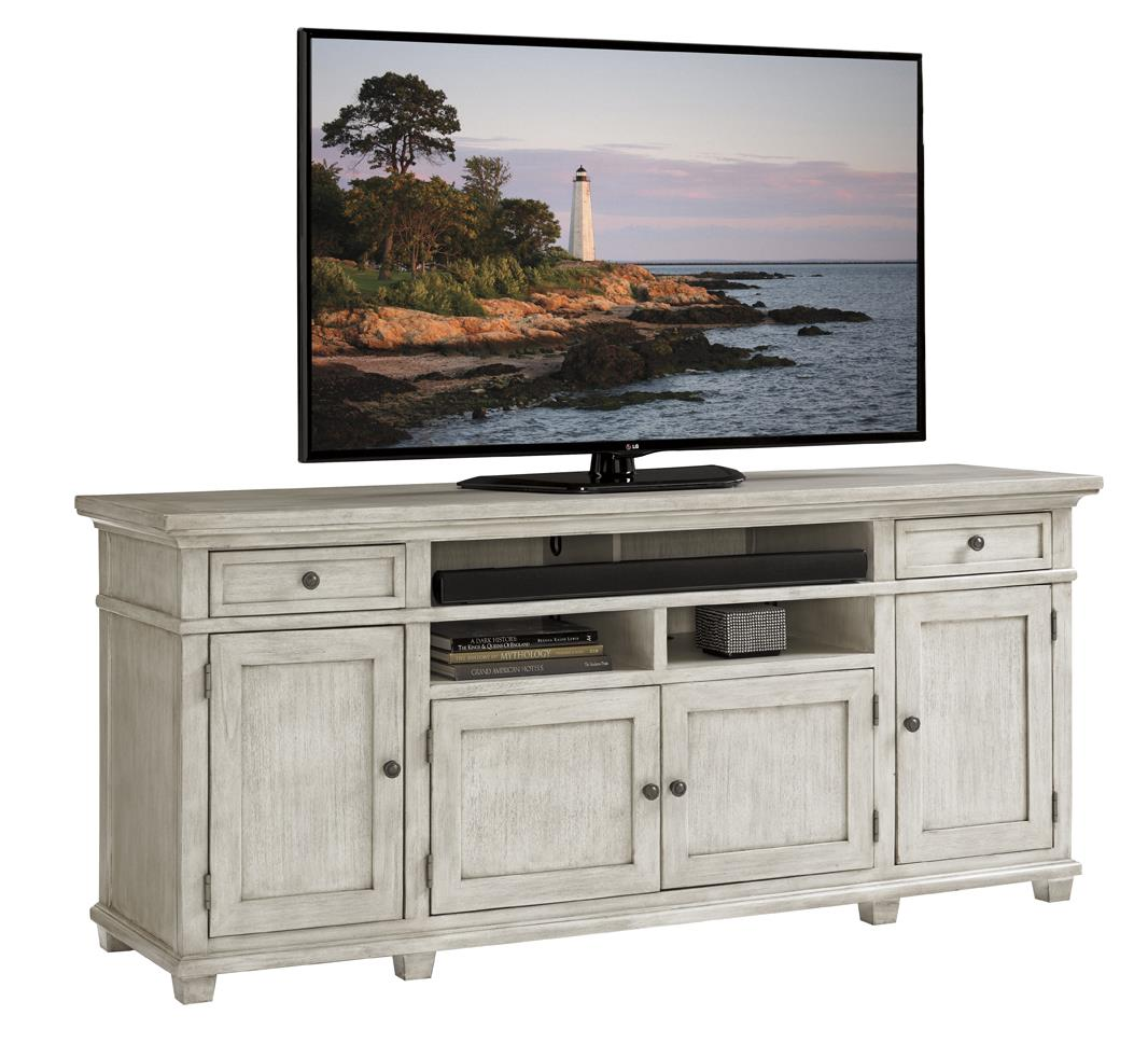 Oyster Bay KINGS POINT MEDIA CONSOLE by Lexington at Fisher Home Furnishings