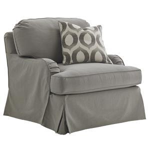 Lexington Oyster Bay Stowe Slipcover Chair