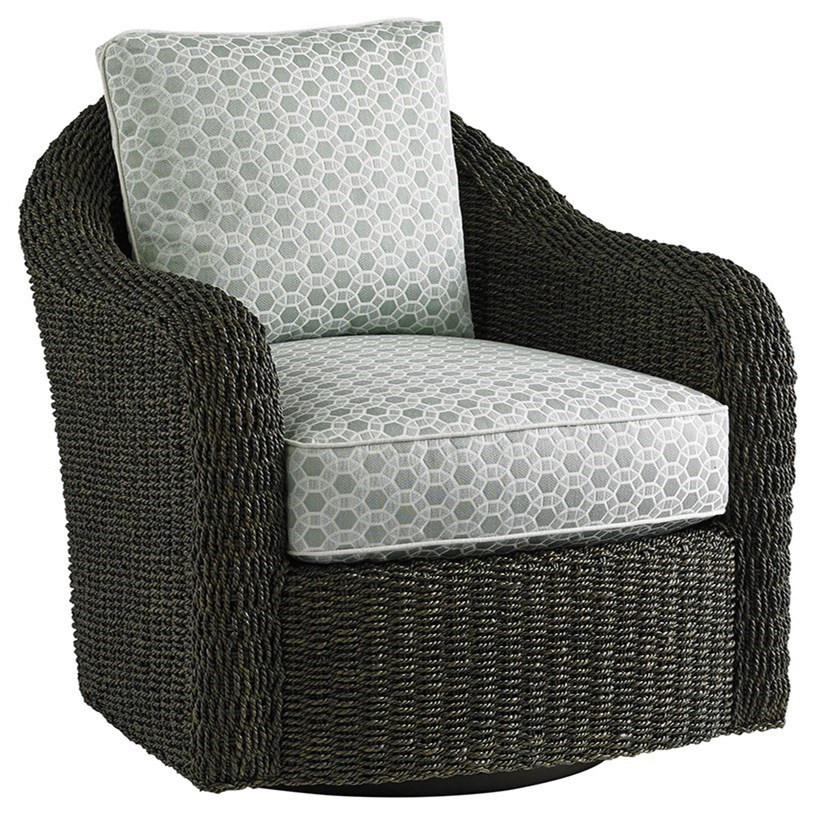 Oyster Bay Seabury Swivel Chair by Lexington at Baer's Furniture