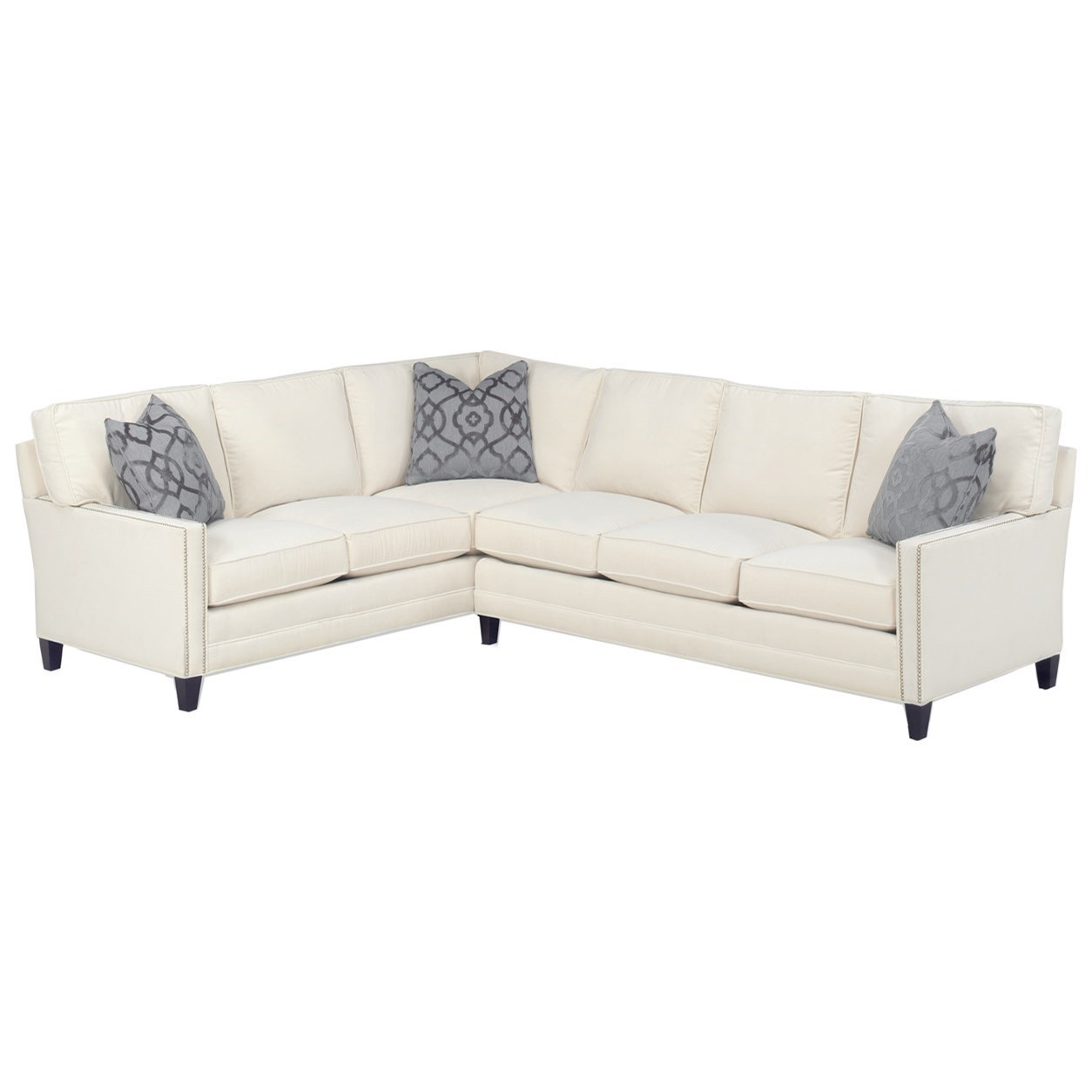 Personal Design Series Customizable Bristol 2 Pc Sectional by Lexington at Baer's Furniture