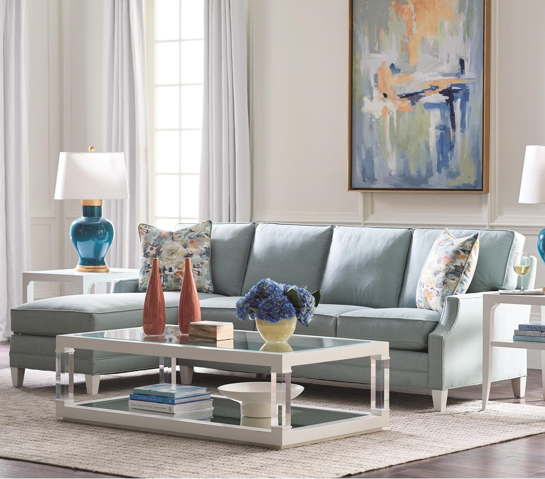 Personal Design Series Customizable Bristol 2-Piece Chaise Sofa by Lexington at Baer's Furniture
