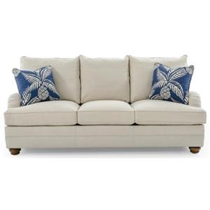 Tanner Customizable Sofa (3 Cushions, English Arms, Bed Pillow Backs, Bun Feet)
