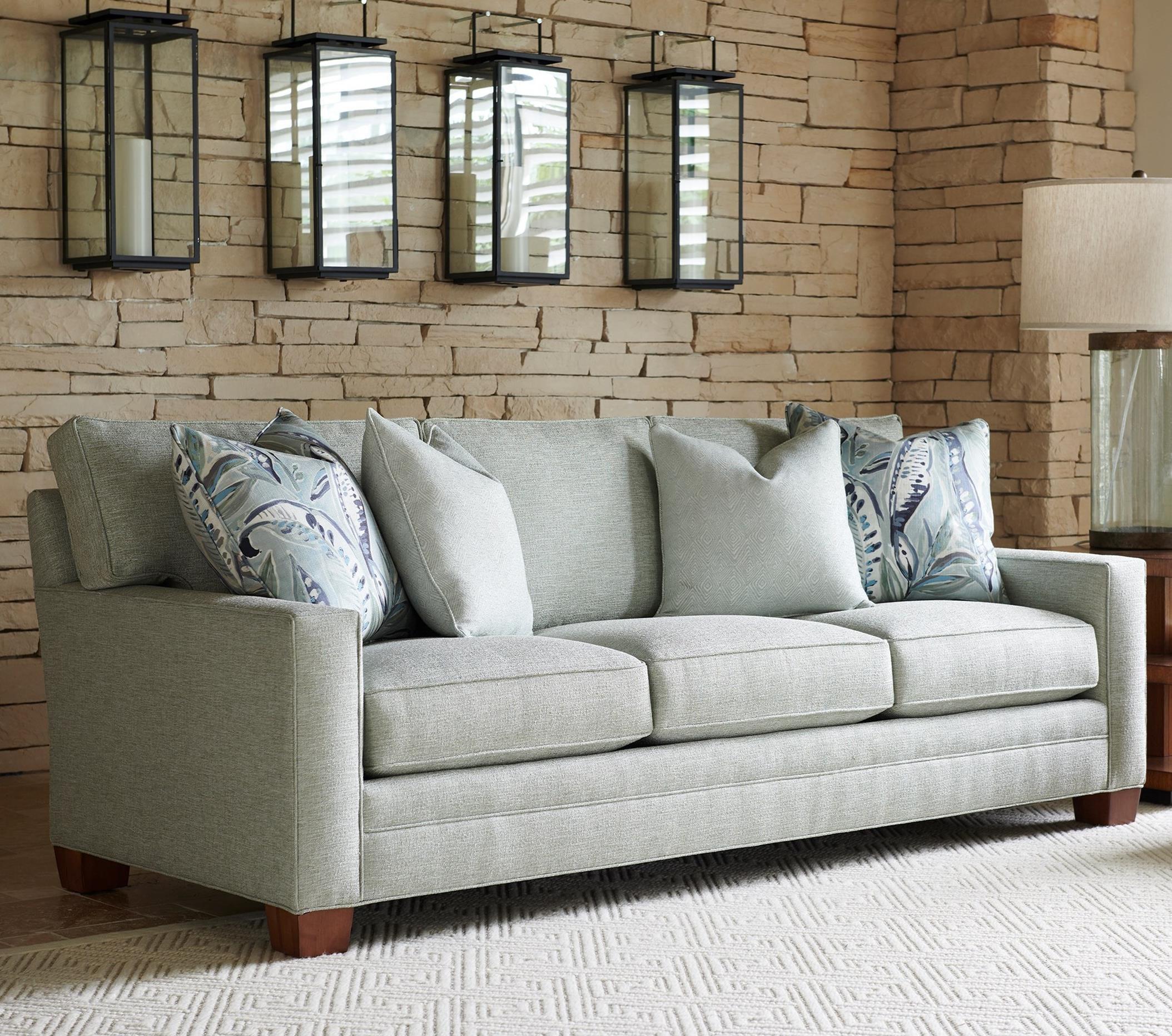 Personal Design Series Bedford Customizable 3- Cushion Sofa by Lexington at Johnny Janosik
