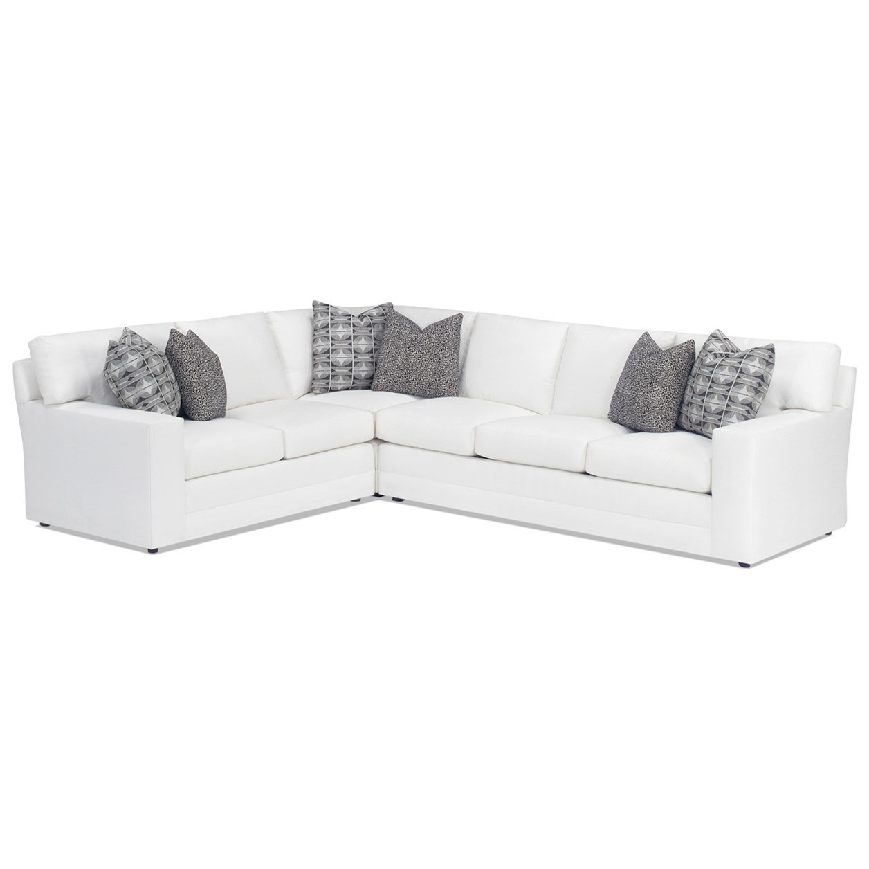 Personal Design Series Customizable Bedford 2 Pc Sectional Sofa by Lexington at Baer's Furniture