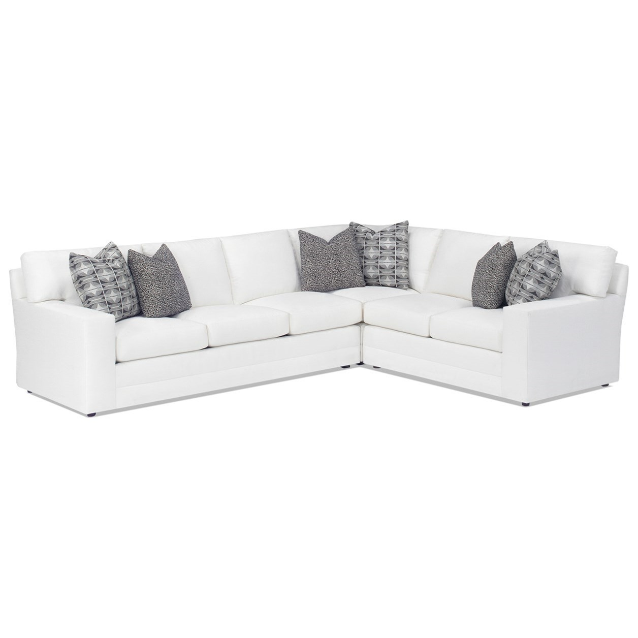 Personal Design Series Customizable Bedford 3 Pc Sectional Sofa by Lexington at Johnny Janosik